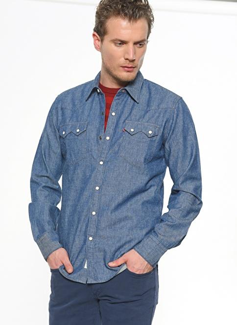 Levi's® Jean Gömlek | Shirt Long Sleeve İndigo